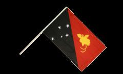Papua New Guinea Hand Waving Flag