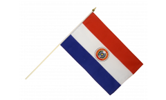 Paraguay Hand Waving Flag - 12 x 18 inch