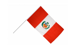 Peru Hand Waving Flag