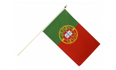 Portugal Hand Waving Flag - 12 x 18 inch