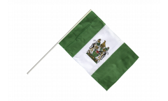 Rhodesia Hand Waving Flag