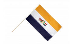 South Africa old Hand Waving Flag