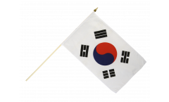 South Korea Hand Waving Flag