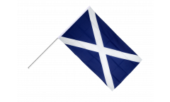 Scotland Hand Waving Flag