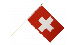 Switzerland Hand Waving Flag