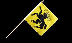 Switzerland Canton Schaffhausen Hand Waving Flag - 12 x 12 inch