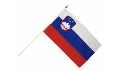 Slovenia Hand Waving Flag - 12 x 18 inch