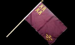 Spain Murcia Hand Waving Flag - 12 x 18 inch