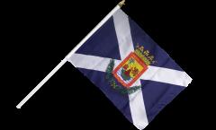 Spain Tenerife Hand Waving Flag - 12 x 18 inch