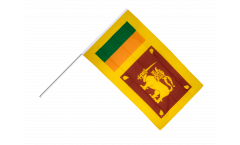 Sri Lanka Hand Waving Flag