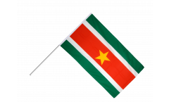 Suriname Hand Waving Flag