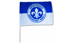 SV Darmstadt 98 Logo Hand Waving Flag
