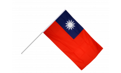 Taiwan Hand Waving Flag
