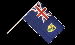 Turks and Caicos Islands Hand Waving Flag