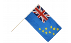 Tuvalu Hand Waving Flag