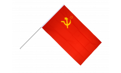USSR Soviet Union Hand Waving Flag