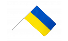 Ukraine Hand Waving Flag
