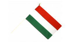 Hungary Hand Waving Flag - 12 x 18 inch