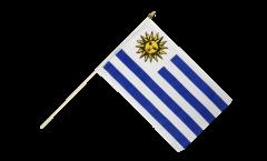 Uruguay Hand Waving Flag - 12 x 18 inch