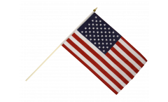 USA Hand Waving Flag - 12 x 18 inch