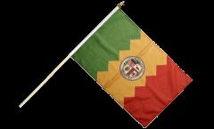 USA City of Los Angeles Hand Waving Flag - 12 x 18 inch