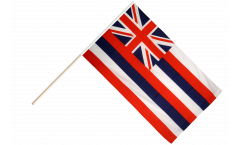 USA Hawaii Hand Waving Flag