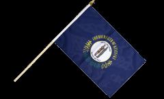 USA Kentucky Hand Waving Flag - 12 x 18 inch