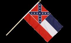USA Mississippi Hand Waving Flag - 12 x 18 inch