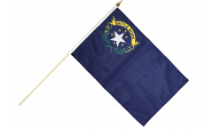 USA Nevada Hand Waving Flag - 12 x 18 inch