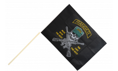 USA Ranger Mess with the best Hand Waving Flag - 2 x 3 ft.