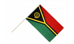 Vanuatu Hand Waving Flag
