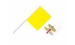 Vatican Hand Waving Flag