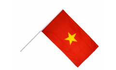 Vietnam Hand Waving Flag