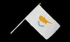 Cyprus Hand Waving Flag - 12 x 18 inch
