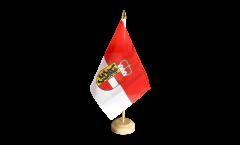 Austria Salzburg Table Flag