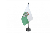 Austria Styria Table Flag - 3.95 x 5.9 inch