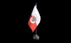Austria Tyrol Table Flag - 3.95 x 5.9 inch