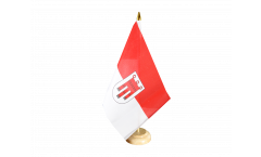 Austria Vorarlberg Table Flag