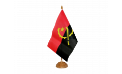 Angola Table Flag