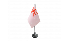 Australia Pink Table Flag - 3.95 x 5.9 inch