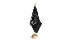 Baphomet Church of Satan Table Flag