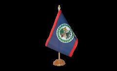 Belize Table Flag