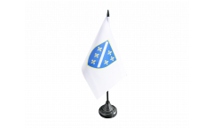 Bosnia old 1992-1998 Table Flag - 3.95 x 5.9 inch