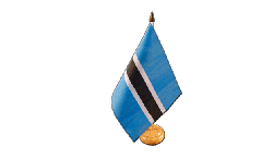 Botswana Table Flag