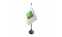 Brazil Brasilia Table Flag