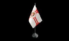 Brazil Sao Paulo Table Flag