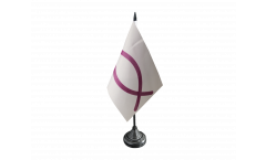 Ichthys Ichthus Table Flag - 3.95 x 5.9 inch