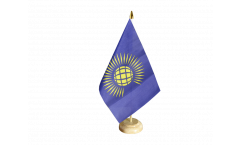 Commonwealth new Table Flag