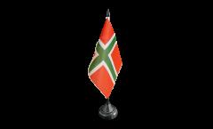 Denmark Bornholm Table Flag - 3.95 x 5.9 inch