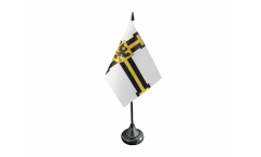 Teutonic Knights Grand Master Table Flag - 3.95 x 5.9 inch